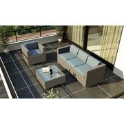 Harmonia Living Element 3 Piece Deep Seating Group w/ Cushion; Canvas Spa