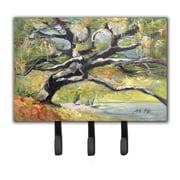 Caroline's Treasures Oak Tree on The Bay with Sailboats Leash Holder and Key Hook