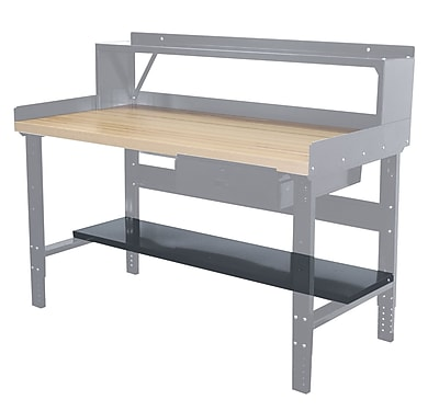 Hallowell Workbench Lower Shelf; 72'' W