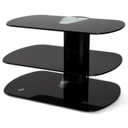 Off The Wall Skyline TV Stand; Black