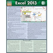 BarCharts, Inc. - QuickStudy® Microsoft Excel 2013 Reference Set