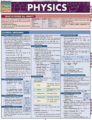 BarCharts, Inc. - QuickStudy Physics Reference Set 1932930