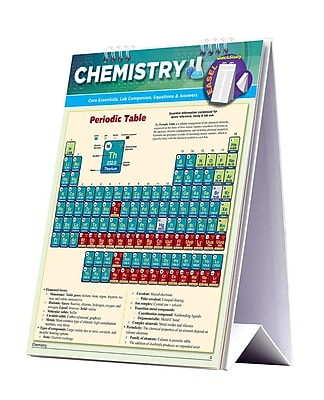 BarCharts, Inc. - QuickStudy Chemistry Easel Reference Set 1933002