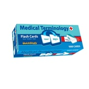 BarCharts, Inc. - QuickStudy® Medical Term: Flashcard & Reference Set