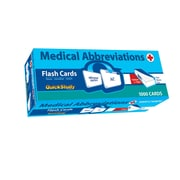 BarCharts, Inc. - QuickStudy® Medical Abbreviations Flashcard & Reference Set