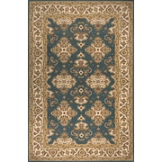 Momeni Persian Garden Teal Blue Area Rug; 5' x 8'
