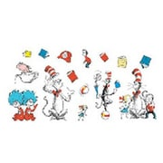 Eureka! 15 Piece Cat in The Hat Large Bulletin Board Cut Out Set