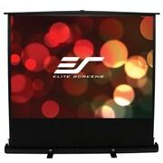 Elite Screens ezCinema Plus Series White Portable Projection Screen; 100'' diagonal