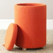 Safavieh Jeannie Storage End Table; Burnt Orange
