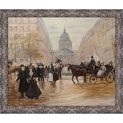 Tori Home Boulevard Saint-Michel by Jean Francois Raffaelli Framed Original Painting