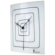 River City Clocks Glass Art Wall Clock