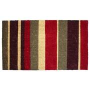 J&M Home Fashions Multi Stripe Doormat