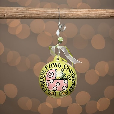 Glory Haus Carriage Baby's First Ball Ornament