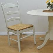 Carolina Cottage Vera Dining Chair; Antique Ivory