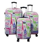 Kemyer World 3 Piece Luggage Set