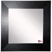 Rayne Mirrors Ava Wide Wall Mirror; 22'' W X 22'' H