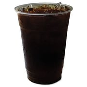 ECO-PRODUCTS GreenStripe Renewable Resource Compostable Cold Drink Cups, 12 oz, Clr, 50/Pack; 16 oz.