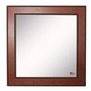 Rayne Mirrors Ava Western Rope Wall Mirror; 24.5'' W X 24.5'' H