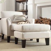 Kingstown Home Warner Modern Arm Chair and Ottoman