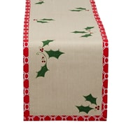 Design Imports Holly Jolly Printed Table Runner