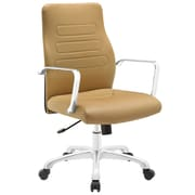 Modway Depict Mid-Back Task Chair; Tan