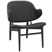 Modway Suffuse Lounge Chair; Black / Gray