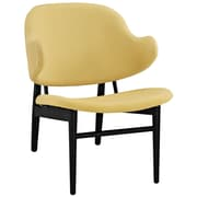Modway Suffuse Lounge Chair; Black / Yellow
