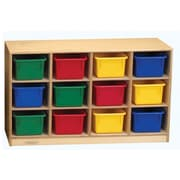 Childcraft Childcraft Toddler Mobile Cubby, 12 Unit Capacity