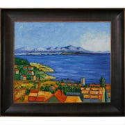 Tori Home The Bay of Marseilles Canvas Art by Paul Cezanne Traditional