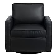 Diamond Sofa Tanner Arm Chair; Black