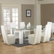 Star International Tiffany Dining Table Base in White
