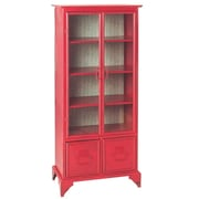CBK Tall Cabinet; Red