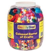 Chenille Kraft Colossal Barrel Of Crafts