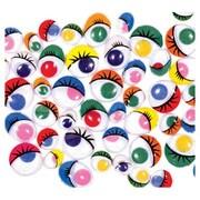 Chenille Kraft Painted Eyes 100 Pcs