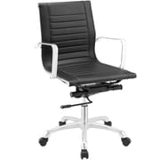 Modway Runway Mid-Back Office Chair; Black