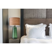 Adesso Jade 22.5'' H Table Lamp with Drum Shade