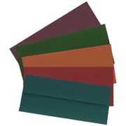 "JAM Paper Business #10 Envelope, 4.125"" x 9.5"", Multicolored, 125/Pack (315Btgorb)"