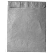 JAM Paper® 10 x 13 Tyvek Envelopes, Catalog Open End with Self Adhesive Closure, Silver, 10/pack (V021384B)