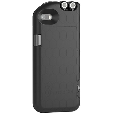 Digital Treasures TurtleCell Retractable Headphone Case for iPhone 5S, Black