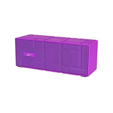 Digital Treasures Lyrix Remixx Portable Bluetooth Speaker, Purple