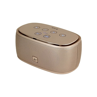 Digital Treasures Lyrix Rush Portable Speaker, Gold