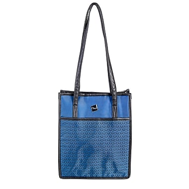 Ciao Printed Polyester Nylon Ladies Cooler Bag, Blue