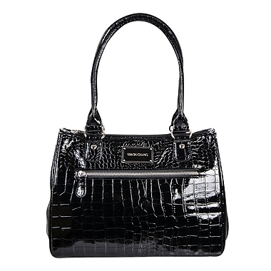 Simon Chang Ladies Faux Leather Croco Print Cooler Bags, 8.5