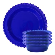 Chantal 5 Piece Pie Set; Indigo Blue