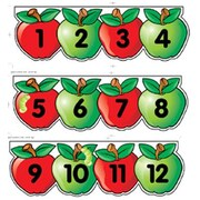 Creative Teaching Press Mini Apples Line Numbers
