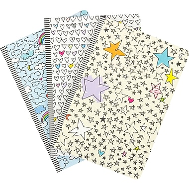 Me to We Journal with Ribbon, Soft Cover, 8-1/4'' x 5-3/4'', Assorted, 224 Pages