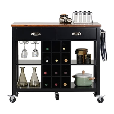 Homestar Wide Kitchen Island Carts