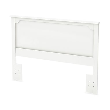 South Shore Fusion Full/Queen Headboard (54/60''), Pure White