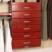 John Louis Home 24''W x 6''H Drawer; Red Mahogany