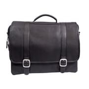Canyon Outback Leather Willow Rock Leather Briefcase; Black